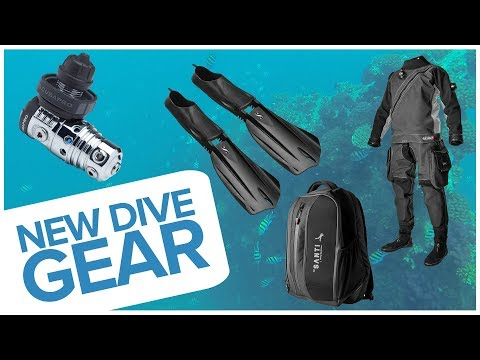 New Dive Gear – October 2018