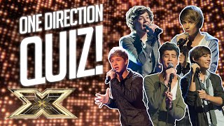 QUIZ! How well do you know One Direction?   10 Years of 1D   The X Factor UK