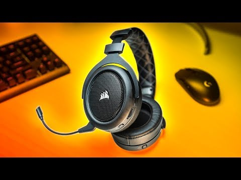 New Wireless Headset CHAMPION!  Corsair HS70