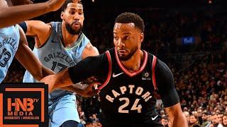 Toronto Raptors vs Memphis Grizzlies Full Game Highlights | 01/19/2019 NBA Season