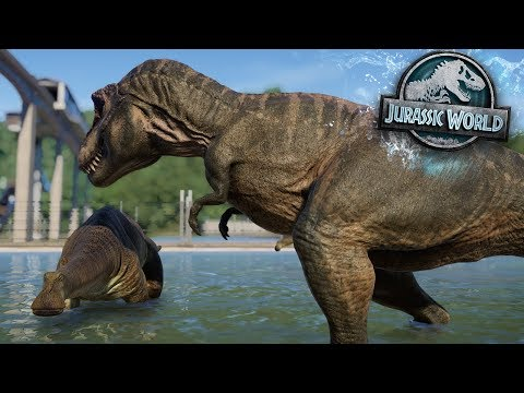 The Sauropod That Isn't Safe! | Atlantis Park | Part 2 Jurassic World Evolution HD