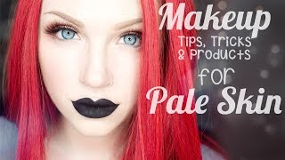 Top 25 Makeup Tips, Tricks & Products for Pale Skin