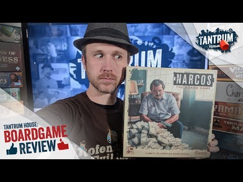 Narcos the Board Game (a Tantrum House Review)
