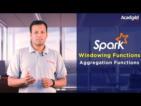 Windowing Functions in Spark SQL Part 3 | Aggregation Functions | Windowing Functions Tutorial
