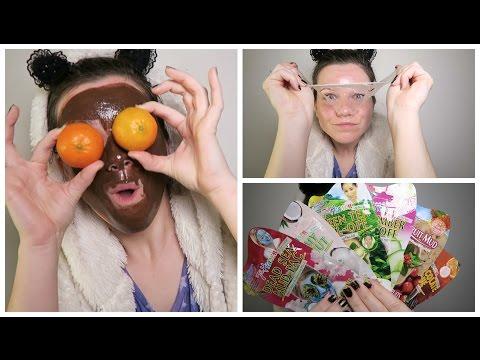 Les masques pour la personne yaitso