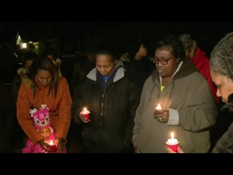 Vigil held for 2 men shot, killed on Detroit's west side