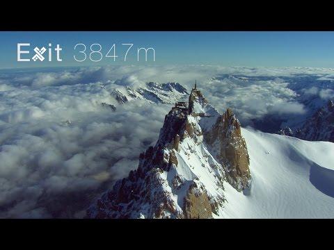 צוות XDubai עף באוויר בהרי האלפים