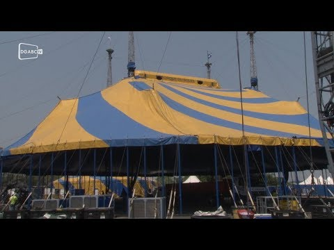 O circo ganha vida