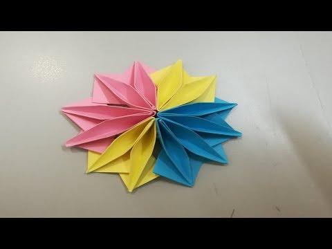 Paper Flower Tutorial Origami Flowers Healthy