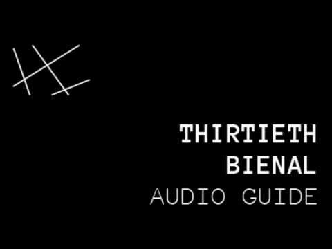 #30bienal (Audioguide) 1st floor: Transition between languages 2/9