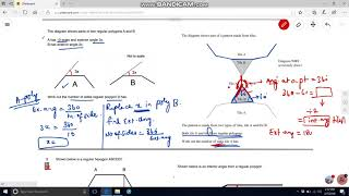 Angles -  (Polygons Higher) Angles in a Polygon - GCSE Maths (Grade 10) Revision