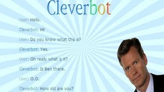 A very interesting chat with Cleverbot...