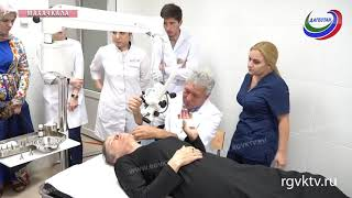 Ведущий ЛОР-врач страны провел мастер-класс для дагестанских специалистов