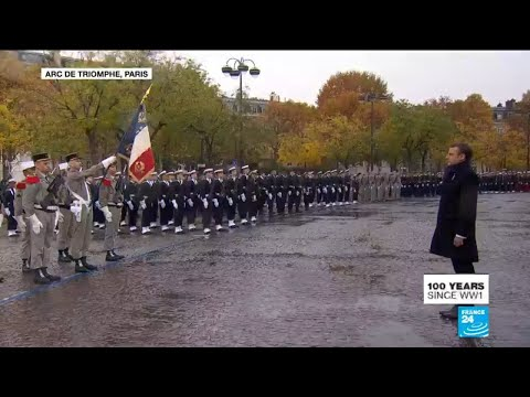WWI armistice centennial: Army choir plays French anthem 'La Marseillaise'