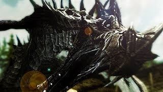 SKYRIM Special Edition: 'VIINTURUTH' DRAGON Boss Fight! (LEGENDARY)