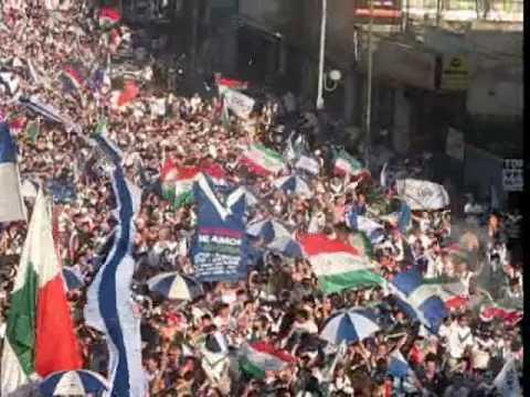 """Caravana 100 años VÉLEZ - Parte 2 // 1.01.10"" Barra: La Pandilla de Liniers • Club: Vélez Sarsfield • País: Argentina"
