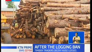 Business owners operating timber yards have decried major losses,following 90 day ban
