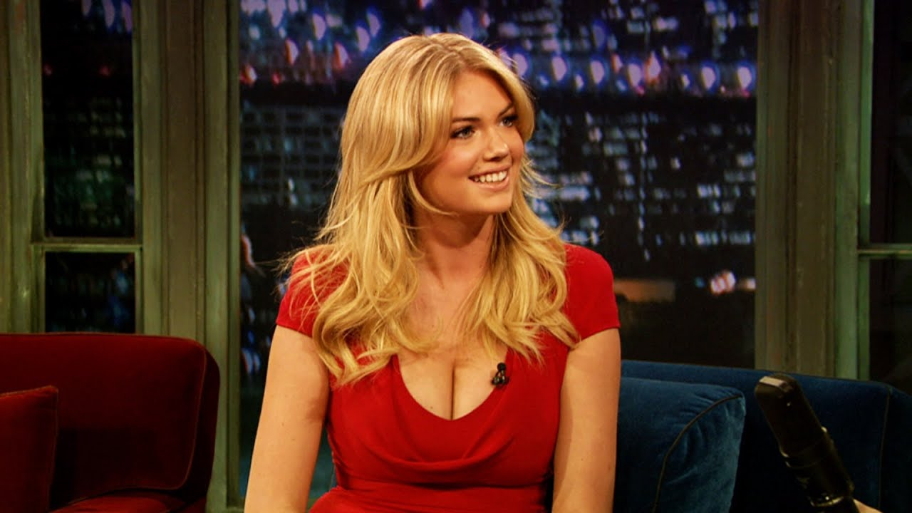 Kate Upton on Her SI Cover (Late Night with Jimmy Fallon) thumbnail