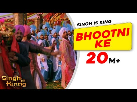 Download Bhootni Ke | Singh Is Kinng | Akshay Kumar | Katrina Kaif | Daler Mehndi Mp4 HD Video and MP3