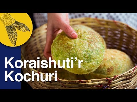Koraishutir Kochuri Recipe-Green Peas-Hing Kachori-Motorshutir Kochuri-Bengali Vegetarian Recipe