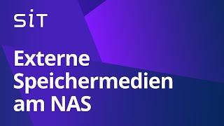 Externe Speichermedien am Synology NAS