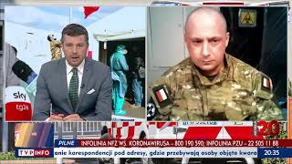Rozmowa z dowódcą lekarzy WP na misji we Włoszech