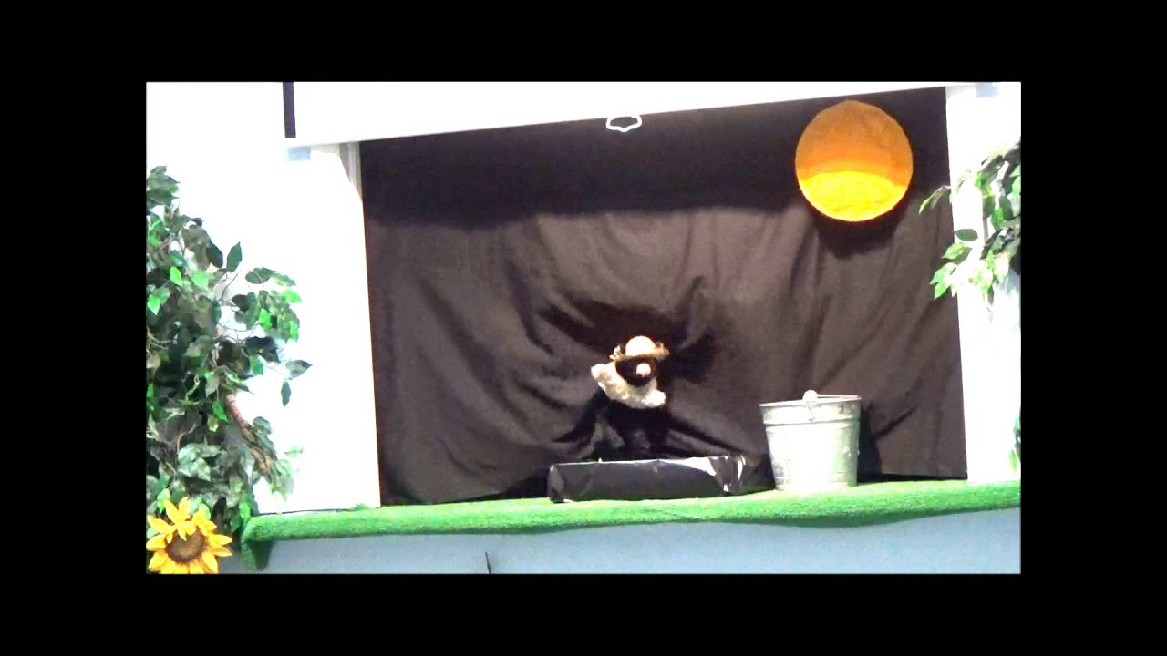 Puppet Show for kids - Pig's Garden