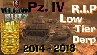 WOT Blitz In Memory Of Low Tier Derp Guns PZ. IV Feat. _H3ARTLESS_