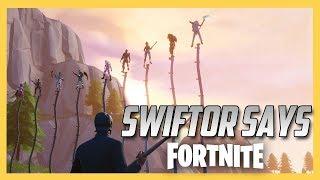 Swiftor Says in Fortnite Creative!