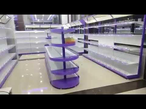 supermarket mesh Rack