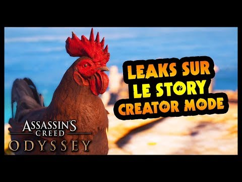 *LEAK* Des infos exclusives sur le STORY CREATOR MODE ! (Assassin's Creed Odyssey)