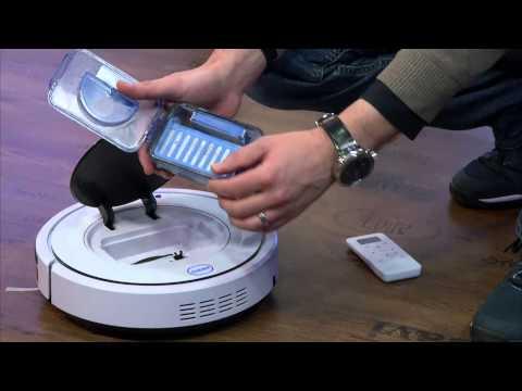 Sichler Premium Reinigungs-/Staubsauger-Roboter PCR2550L, auto-ladend