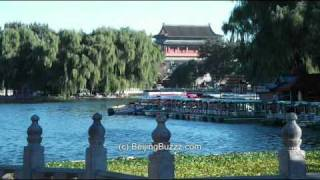 Video : China : Early morning at QianHai 前海 Lake, BeiJing