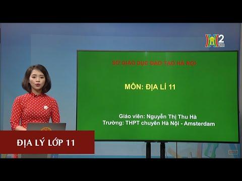 MÔN ĐỊA LÝ - LỚP 11 | BÀI 10: CHND TRUNG HOA (TRUNG QUỐC) - TIẾT 1 | 17H10 NGÀY 02.04.2020 | HANOITV