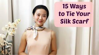 How To Wear A Silk Scarf In 15 Easy Ways