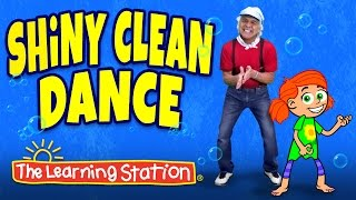 Brain Breaks ♫ Action Songs for Children ♫ Shiny Clean Dance ♫ Kids Songs by The Learning Station