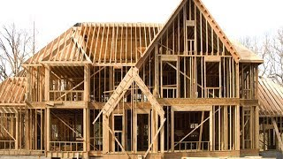 Amazing Intelligent Wooden House Constructions   Fast Skills, House Building Process