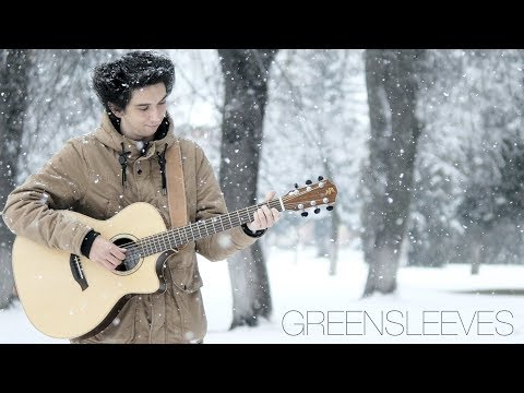Greensleeves | What Child Is This? (Fingerstyle Guitar Cover By Albert Gyorfi)