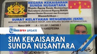 Ngaku Warga Kekaisaran Sunda Nusantara, Pria di Jakarta Timur Ditilang karena Punya SIM Tak Biasa