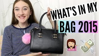 What's In My Bag ♡ 2015