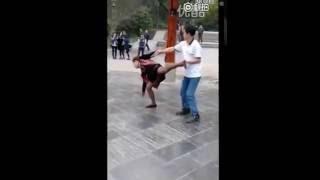 Чудо китайской медицины женщина начала ходить Miracle of Chinese medicine woman began to walk