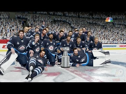 NHL 18 - Winnipeg Jets Stanley Cup Celebration