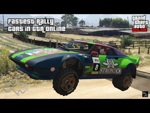 Fastest Rally Cars In GTA Online (2018)