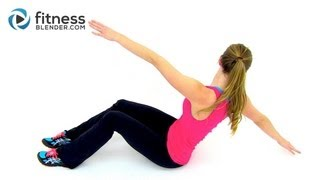 HIIT Cardio and Abs Workout - 30 Minute At Home HIIT Workout with Abs Exercises by FitnessBlender