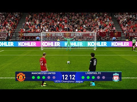 PES 2020 | MANCHESTER UNITED vs LIVERPOOL | Penalty Shootout | Gameplay PC | UEFA Champions League