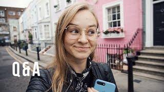 Страхи? Питание? Вложения и Отношения? Q&A в Лондоне | Karolina K