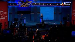 Dezbaterea finală i-a crescut uşor şansele lui Trump pe platformele de pariuri online