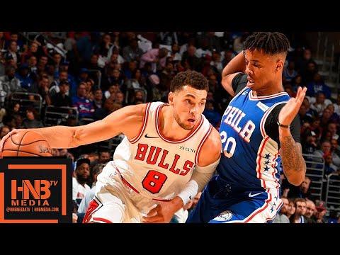 Philadelphia Sixers vs Chicago Bulls Full Game Highlights   10.18.2018, NBA Season