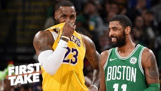 There is a chance Kyrie Irving leaves Boston in the offseason – Max Kellerman   First Take