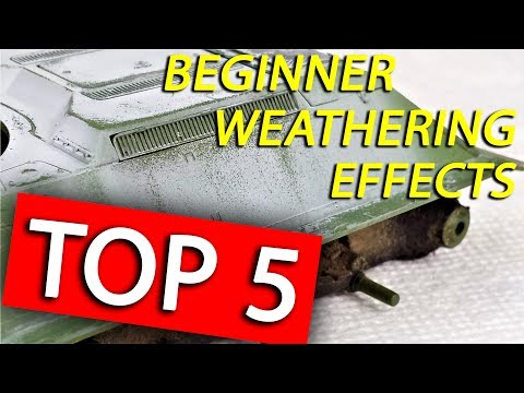 Top 5 Weathering Tips I Recommend for Beginners